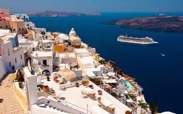 греция, санторини, oia, ия, эгейское море, санторин