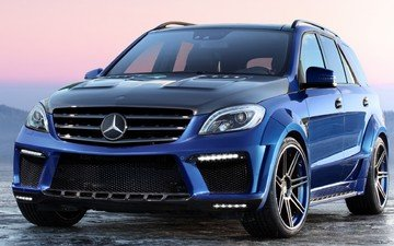top car, ml 63amg, inferno, мерс