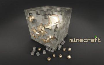 кубики, блок, майнкрафт