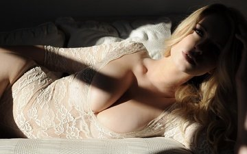 тени, cleavage, bodysuits, jess davies, jessica davies, leotard, no bra, женщин, моделей, блондинк