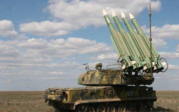 complex, anti-aircraft missile, buk-m2