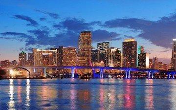 мост, сша, флорида