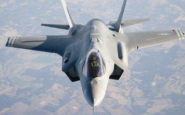 the sky, the plane, f-35