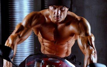 press, fitness, muscle, dmitry yashankin