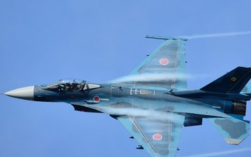 fighter, f-2a, japanese, mitsubishi