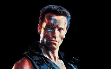 arnold schwarzenegger, commando, the team