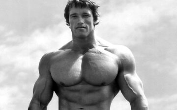 actor, black and white, body, torso, jock, young, arnold schwarzenegger, muscle, bodybuilder, businessman, schwartz, athlete, the austrian oak, mr. olympia