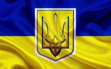 флаг, украина, единая страна