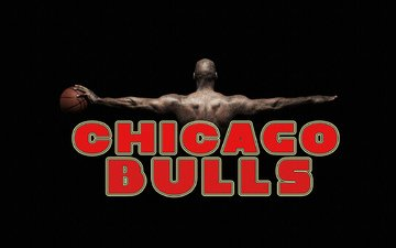 background, black, the ball, name, chicago bulls