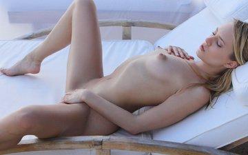соски, мягкая, блонд, solo, boobs, без задних ног, small tits, puffy nipples, spreading, blue angel, leila, tiny tits, perfect girl, басеин, аппетитная, подросток, синицы