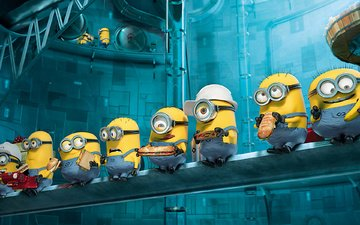 food, helmet, minions, despicable me 2, burgers