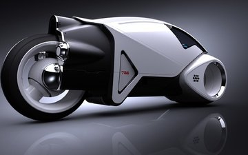 будущее, мотоцикл, прототип, байк
