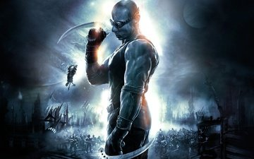 the chronicles of riddick, vin diesel