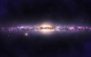 galaxy, the milky way, milky way