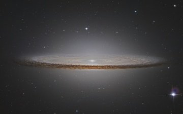 the sky, stars, the sombrero galaxy, ngc4594, galaxy wallpaper