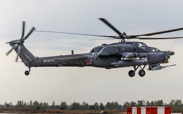 helicopter, russian, shock, mi-28