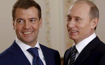 политика, президент россии, премьер-министр россии, дмитрий медведев, владимир путин
