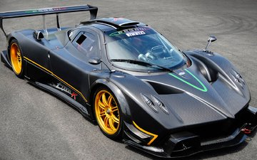 zonda, sports car, supercar, tuning., pagani
