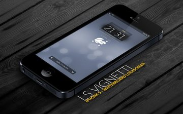 style, black color, time, screen, iphone 5