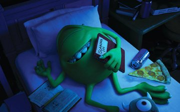 disney pixar, monsters university