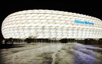 стадион, германия, мюнхен, альянц арена