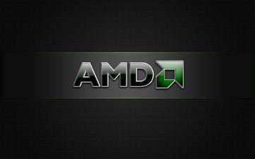 лого, бренд, amd