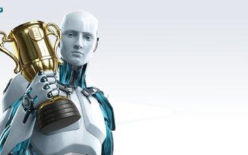робот, eset, nod32, антивирус