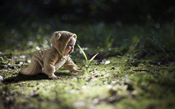 nature, child, baby