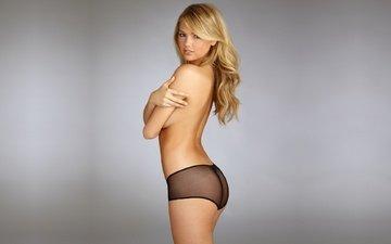 девушка, модель, секси, красотка, блонд, кейт аптон, сексапильная, грудастая