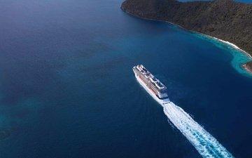 судно, лайнер, celebrity equinox, пассажирский лайнер