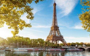 париж, франция, la tour eiffel, seine, франци, эйфелева башня