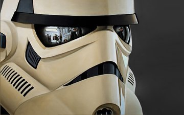reflection, helmet, star wars, the rebels, attack, trooper