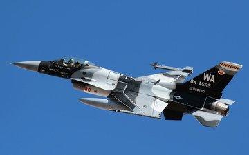самолет, оружие, f-16и