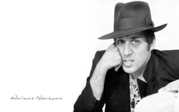 actor, hat, singer, adriano celentano, musician