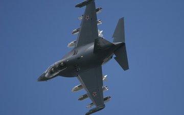 небо, як-130, yak 130, рукавица, учебно-боевой самолёт, окб имени яковлева, варежка