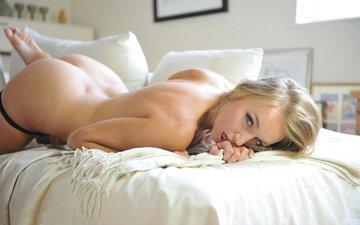 взгляд, попа, диван, тело, hayley marie coppin