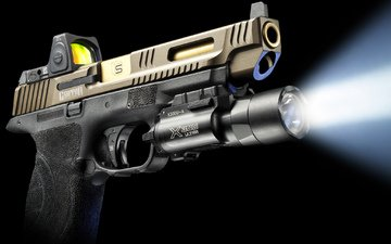 light, weapons, gun, ray, glock, sai griffon, flashlight