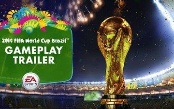 кубок на фоне стадиона чемпионата мира по фут