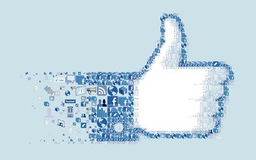 logo, collage, icon, icons, facebook, social network, i like you.