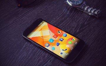 android, smartphone, nexus 4, google, watch