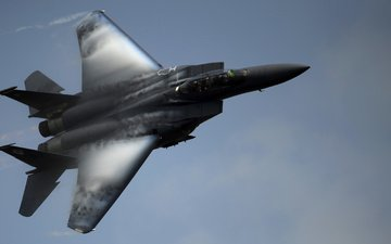 the sky, fighter, eagle, f-15e, mcdonnell douglas
