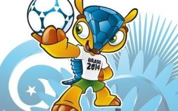 мира, чемпионата, по футболу, талисман, в бразилии 2014