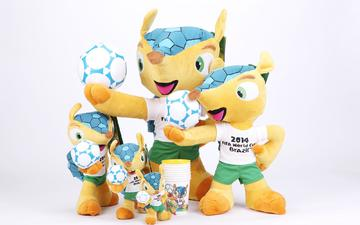 the world, championship, football, in brazil 2014, mascots