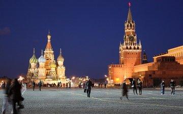 москва, россия, красная площадь