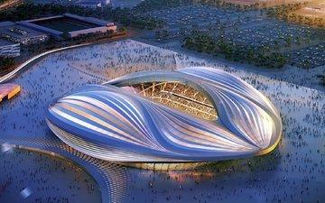 стадион на чемпионате мира по футболу в брази