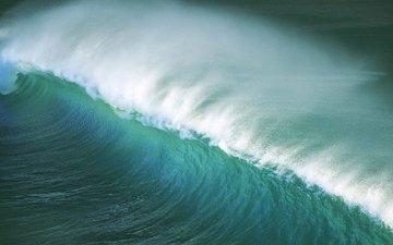 sea, wave, the ocean, storm