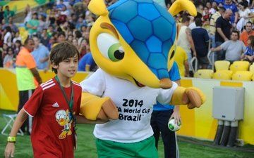 the mascot of the world cup in brazil