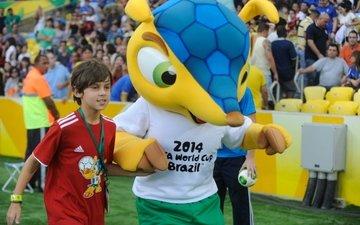 талисман чемпионата мира по футболу в бразили