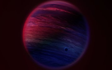 planet, satellite