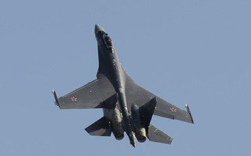 су-35, реактивный, сверхманевренный